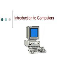 كتب تعريف بالحاسوب Introduction to computers